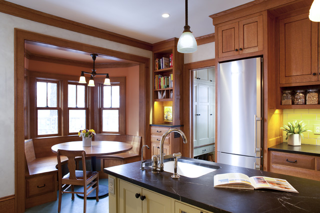 Revamped Kitchen traditional-kitchen