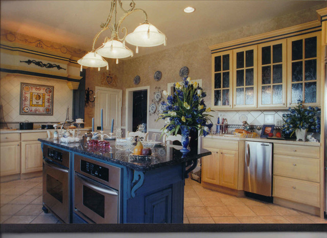 Revisions Past Projects traditional-kitchen