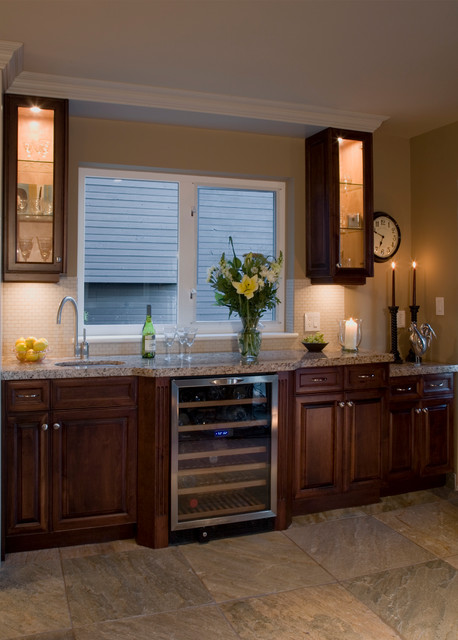 Revitalized Traditional Kitchen Vancouver By Cci Renovations