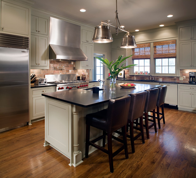 Revived Colonial In Baton Rouge Louisiana Traditional Kitchen New Orleans By Kevin L