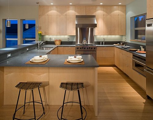 Rhodes Architecture + Light modern kitchen