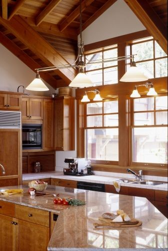 Rhodes Architecture + Light traditional kitchen