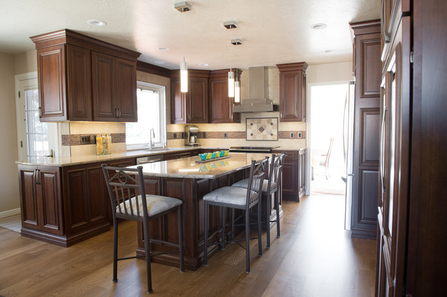 Transitional Kitchen Remodel Traditional Kitchen