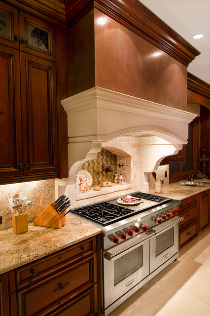 Rich Materials traditional kitchen