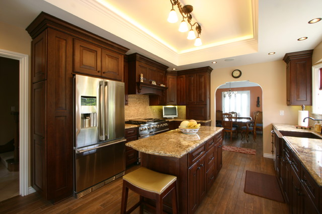 Rich Tuscan Kitchen Traditional Kitchen Other Metro By South Bay Design Center