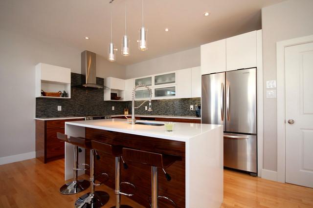 Richardson custom home modern kitchen ottawa by for Richardson custom homes