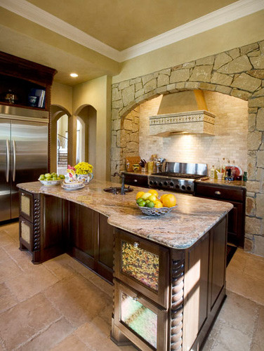 mediterranean kitchen by Richens Designs, Inc.