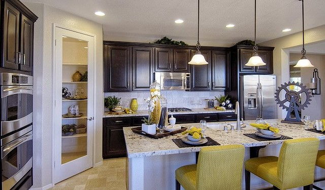 Beau Richmond American Homes Bay Area Traditional Kitchen