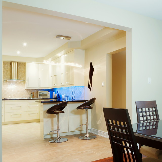Richmond Hill North Residence contemporary-kitchen