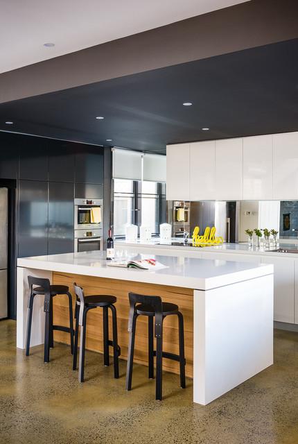 Richmond Modern High Gloss Kitchen Contemporary-kitchen
