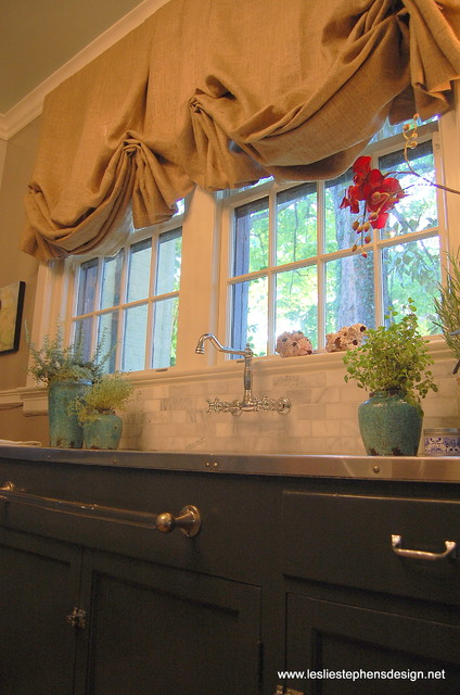 Richmond Symphony Designer Showhouse traditional-kitchen