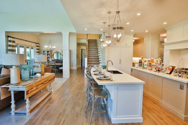 Rideout Residence transitional-kitchen