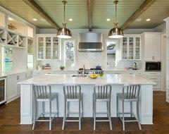 Ridge Oak Residence contemporary-kitchen