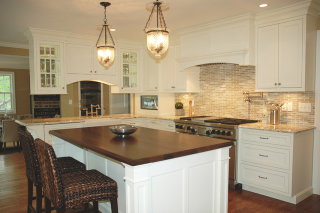 Ridgefield Ct Traditional Kitcen Renovation Traditional Kitchen New York By J M Currie