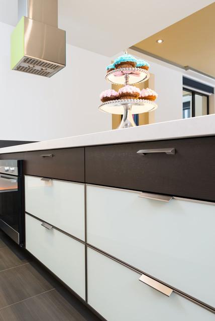 Rift cut oak contempor neo cocina montreal de lys e - Instaladores de cocinas ...