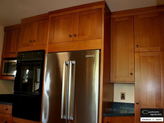 Genial Rift Cut White Oak Craftsman Traditional Kitchen