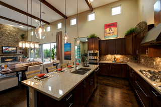 Rimstone in Sedona, AZ mediterranean-kitchen