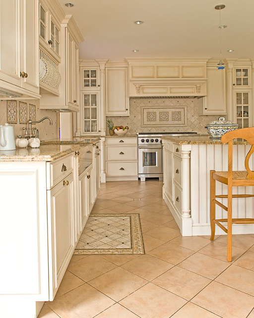 New England Dream Home Traditional-kitchen