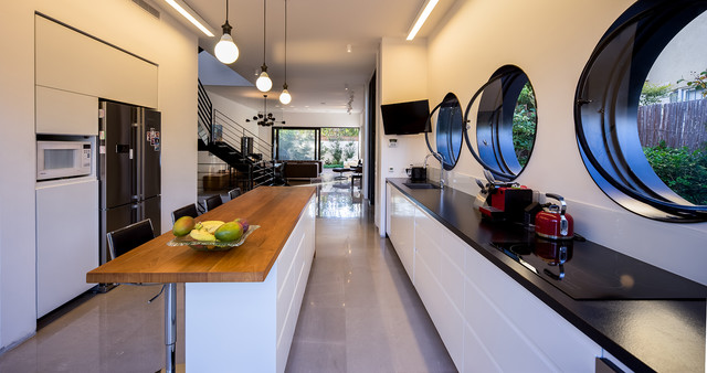 Rishon le zion house 1 contemporary kitchen tel aviv for Modern zion kitchen