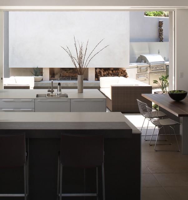 Rising Glen - Contemporary - Kitchen - los angeles - by thinkpure