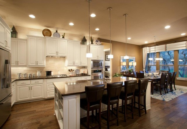 River Chase traditional-kitchen