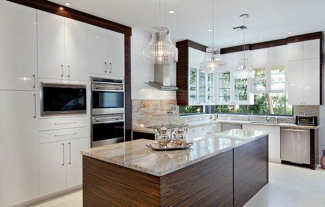 River Gold Granite Contemporary Miami By Marble Of