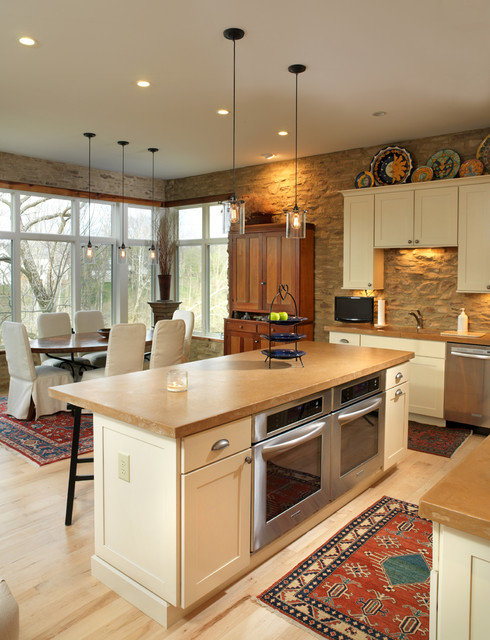 eclectic kitchen by Andrew Melaragno, AIBD