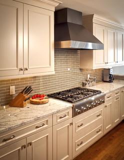 River Oaks White Kitchen Eclectic Kitchen Houston