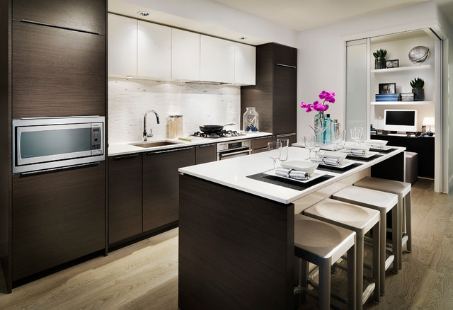 River Park Place, by Intracorp contemporary-kitchen