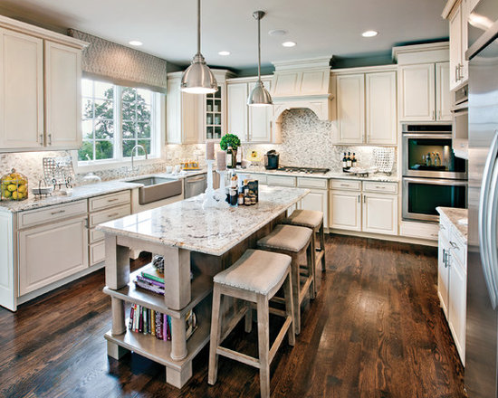 Light Cabinets Dark Floors Home Design Ideas Pictures Remodel And Decor