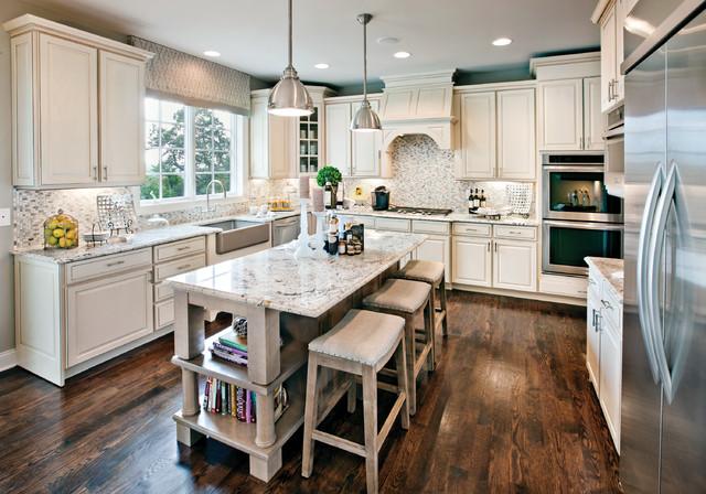 River Ridge - Southwick transitional-kitchen
