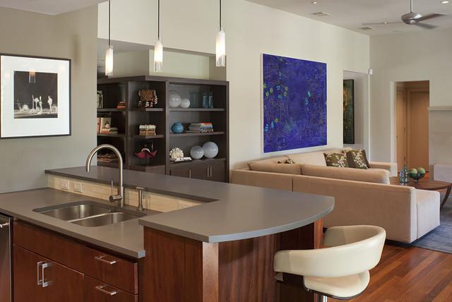 River Road contemporary-kitchen