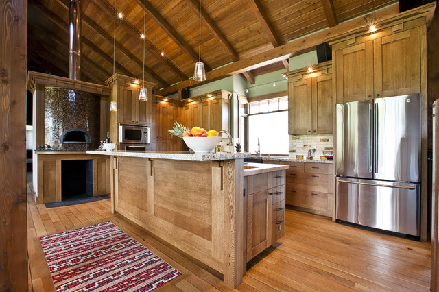 Rivercity rustic kitchen calgary by a for Kitchen designs calgary