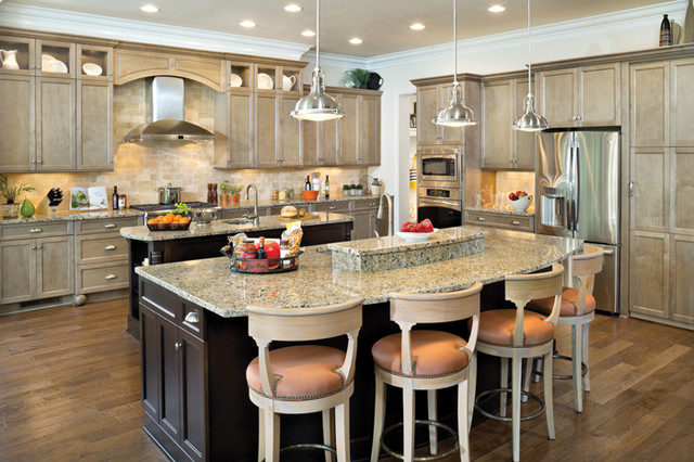 Riverdale 1209 - Traditional - Kitchen - tampa - by Arthur ...