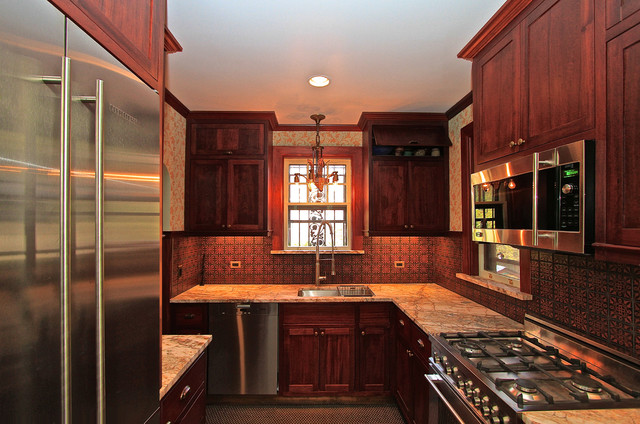 Riverdale Ny Tudor Style House Traditional Kitchen New York By Bmg Design Build Llc