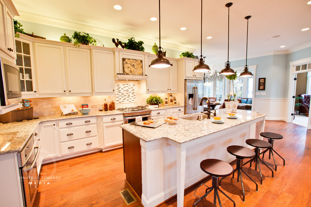 "Riverfront Homearama ""Bridgewater"" traditional-kitchen"