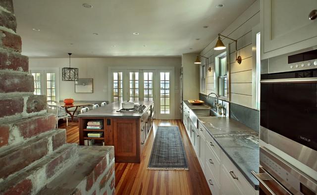 Riverfront Modern Farmhouse Kitchen Farmhouse Kitchen Other By Kdw Home Kitchen Designworks