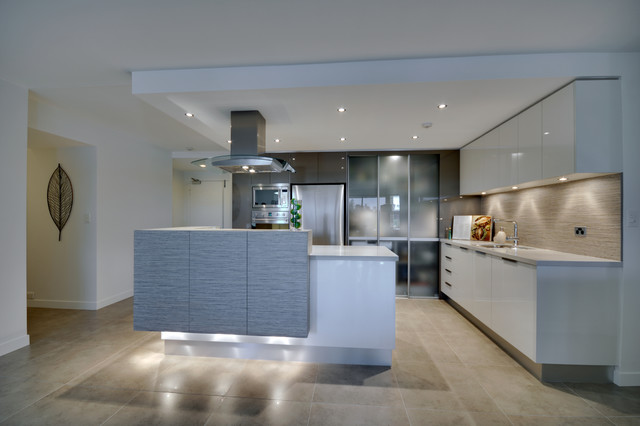 Riverside Apartment Living contemporary-kitchen