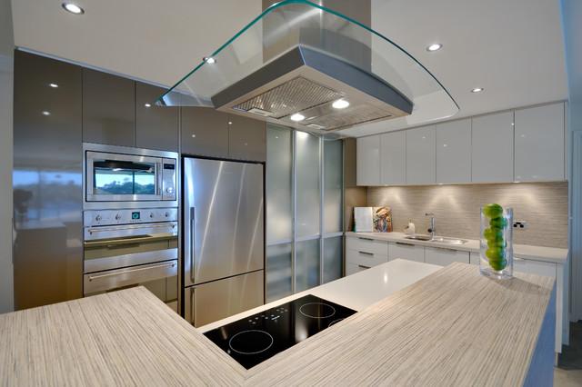 Riverside Apartment Living contemporary-kitchen