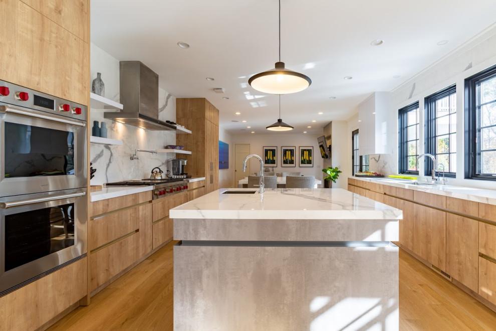 Riverside, CT 2019 - Modern - Kitchen - New York - by ...
