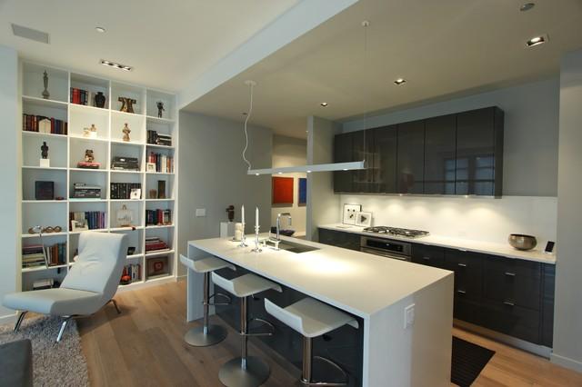 Riverview Residence Modern Kitchen Chicago By Halvorsen Design