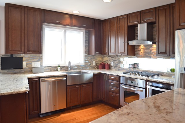Riverwoods remake traditional kitchen chicago by for Kitchen remake