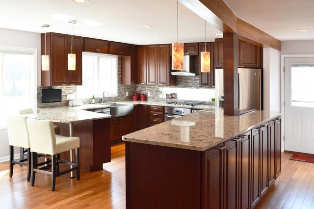 Riverwoods Remake Traditional Kitchen Chicago By