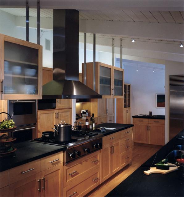 Riverwoods renovation transitional-kitchen