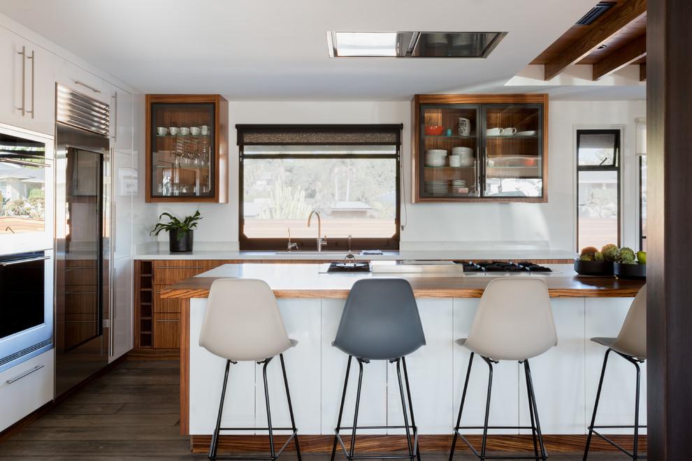 Riviera Residence - Contemporary - Kitchen - Orange County ...