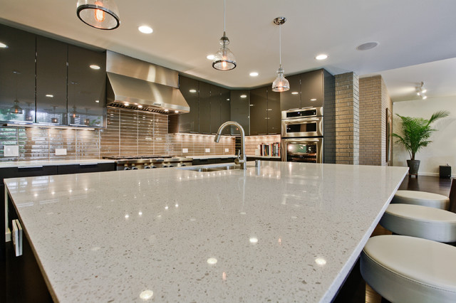RKR5733 - Bluffview Residence - Dallas, TX contemporary-kitchen