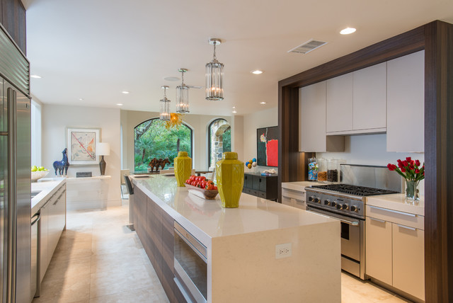 Roa Residence Modern Kitchen Houston By Montgomery Roth Architecture Interior Design