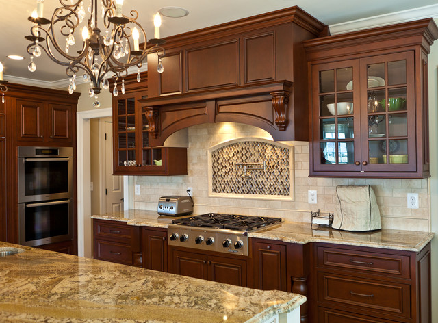 Robbinsville new construction - traditional - kitchen - new york