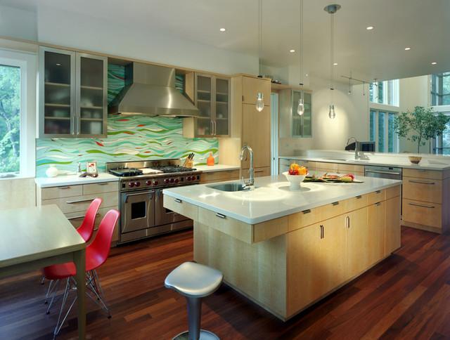 contemporary kitchen by McKinney York Architects
