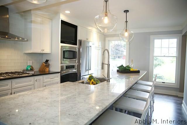 Captivating Rockford Renovation Transitional Kitchen